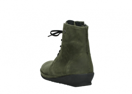 wolky lace up boots 07252 madera 11732 forestgreen oiled nubuck_5