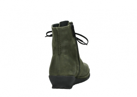 wolky lace up boots 07252 madera 11732 forestgreen oiled nubuck_8