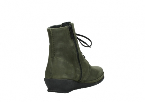 wolky lace up boots 07252 madera 11732 forestgreen oiled nubuck_9