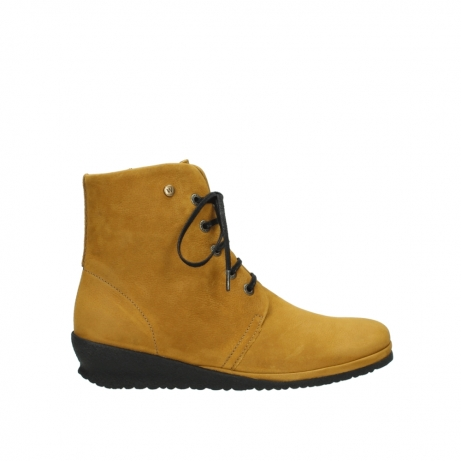 wolky veterboots 07252 madera 11932 curry geolied nubuck
