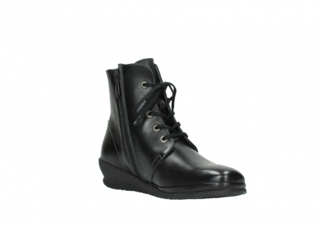wolky veterboots 07252 madera 50000 zwart geolied leer_16