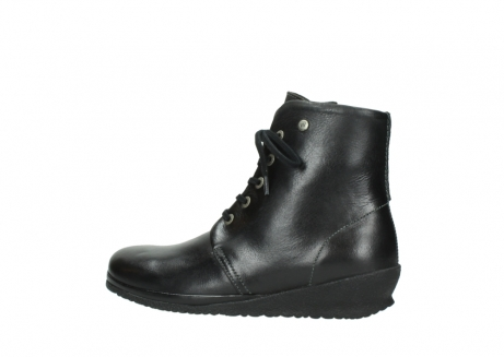 wolky veterboots 07252 madera 50000 zwart geolied leer_2