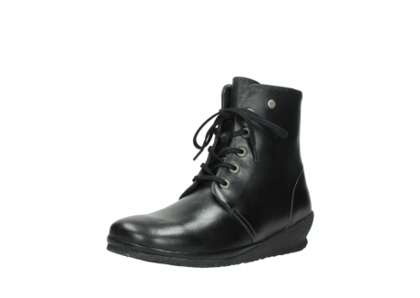 wolky veterboots 07252 madera 50000 zwart geolied leer_22