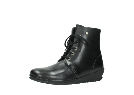 wolky veterboots 07252 madera 50000 zwart geolied leer_23