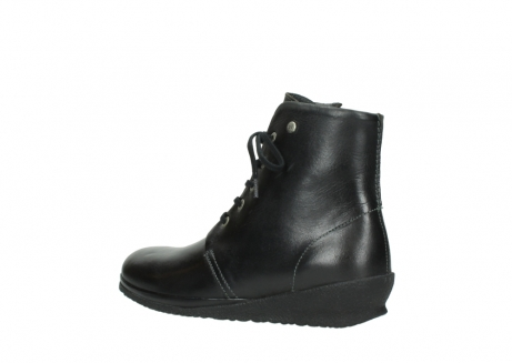wolky veterboots 07252 madera 50000 zwart geolied leer_3