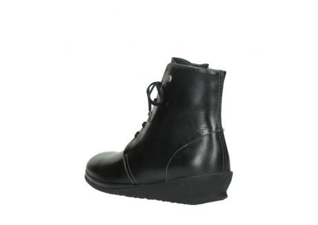 wolky veterboots 07252 madera 50000 zwart geolied leer_4