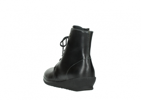 wolky veterboots 07252 madera 50000 zwart geolied leer_5