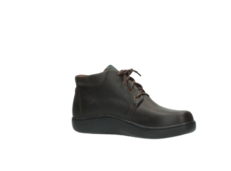wolky bottines a lacets 08100 kansas 50300 nubuck marron_15