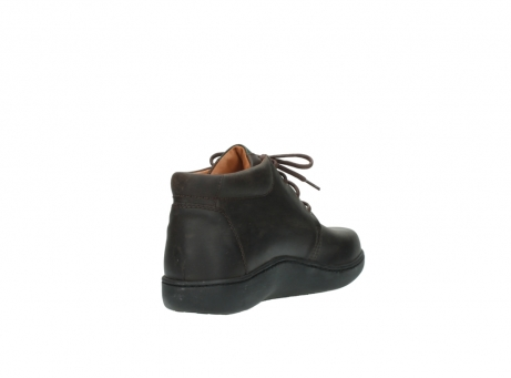 wolky bottines a lacets 08100 kansas 50300 nubuck marron_9