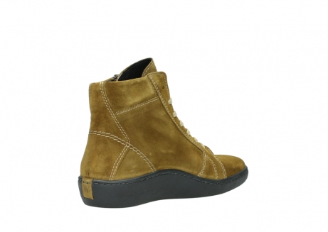 wolky lace up boots 08130 zeus 40920 ocher yellow suede_10