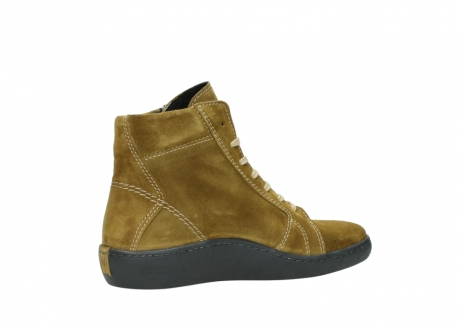 wolky lace up boots 08130 zeus 40920 ocher yellow suede_11