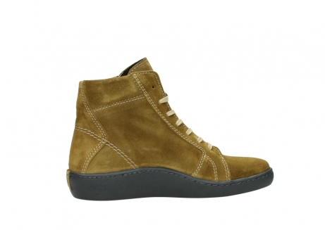 wolky lace up boots 08130 zeus 40920 ocher yellow suede_12