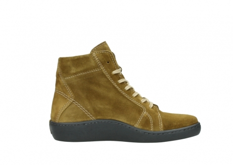 wolky lace up boots 08130 zeus 40920 ocher yellow suede_13