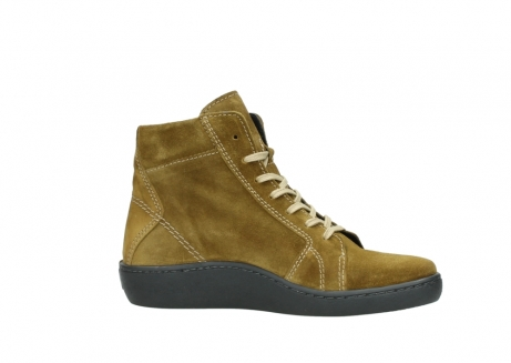 wolky lace up boots 08130 zeus 40920 ocher yellow suede_14