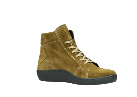 wolky lace up boots 08130 zeus 40920 ocher yellow suede_15