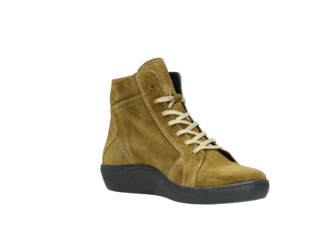 wolky lace up boots 08130 zeus 40920 ocher yellow suede_16