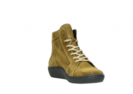 wolky lace up boots 08130 zeus 40920 ocher yellow suede_17