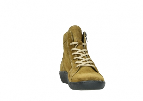 wolky lace up boots 08130 zeus 40920 ocher yellow suede_18