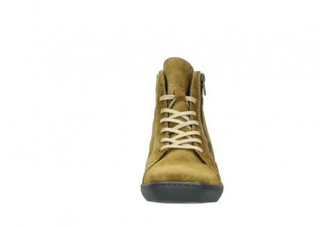 wolky lace up boots 08130 zeus 40920 ocher yellow suede_19