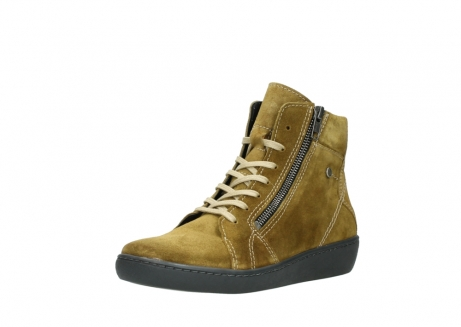 wolky lace up boots 08130 zeus 40920 ocher yellow suede_22