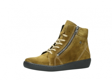 wolky lace up boots 08130 zeus 40920 ocher yellow suede_23