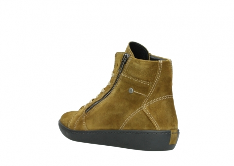 wolky lace up boots 08130 zeus 40920 ocher yellow suede_4