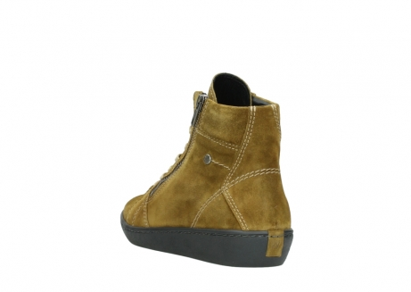 wolky lace up boots 08130 zeus 40920 ocher yellow suede_5