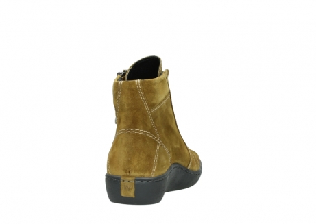 wolky lace up boots 08130 zeus 40920 ocher yellow suede_8