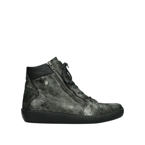 wolky lace up boots 08130 zeus 46280 metal suede