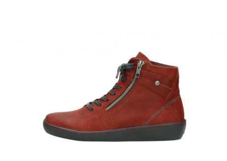 wolky lace up boots 08130 zeus 50540 winter red oiled leather_1
