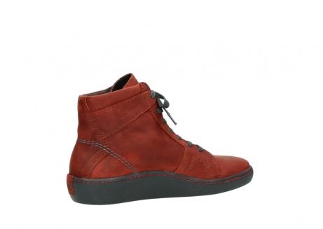 wolky lace up boots 08130 zeus 50540 winter red oiled leather_11
