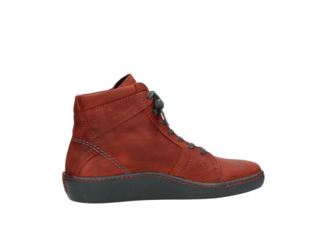 wolky lace up boots 08130 zeus 50540 winter red oiled leather_12