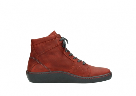 wolky lace up boots 08130 zeus 50540 winter red oiled leather_13