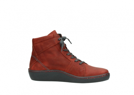 wolky lace up boots 08130 zeus 50540 winter red oiled leather_14