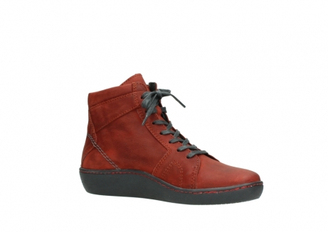 wolky lace up boots 08130 zeus 50540 winter red oiled leather_15