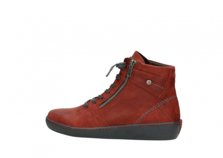 wolky lace up boots 08130 zeus 50540 winter red oiled leather_2