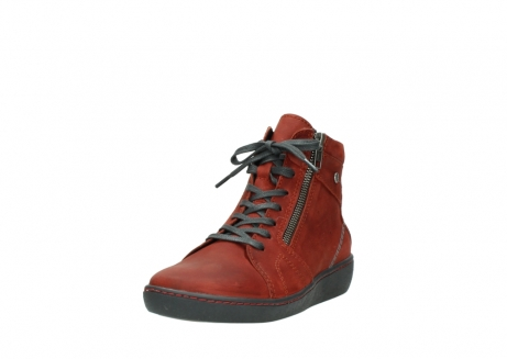 wolky lace up boots 08130 zeus 50540 winter red oiled leather_21