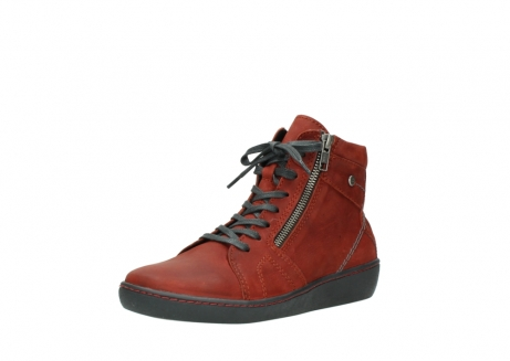 wolky lace up boots 08130 zeus 50540 winter red oiled leather_22