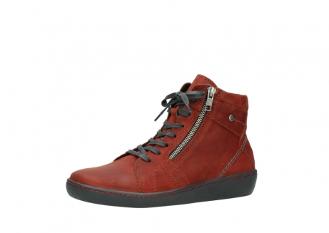 wolky lace up boots 08130 zeus 50540 winter red oiled leather_23