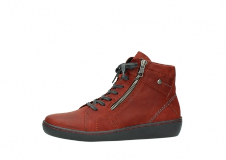 wolky lace up boots 08130 zeus 50540 winter red oiled leather_24
