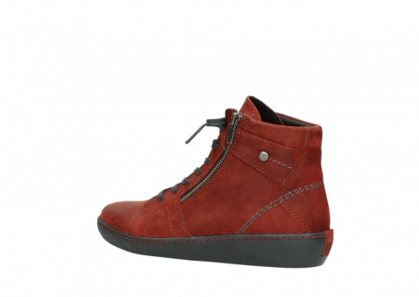 wolky lace up boots 08130 zeus 50540 winter red oiled leather_3