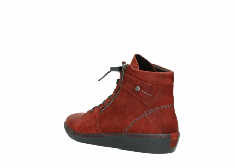 wolky lace up boots 08130 zeus 50540 winter red oiled leather_4