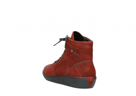 wolky lace up boots 08130 zeus 50540 winter red oiled leather_5