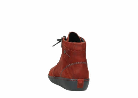 wolky lace up boots 08130 zeus 50540 winter red oiled leather_6