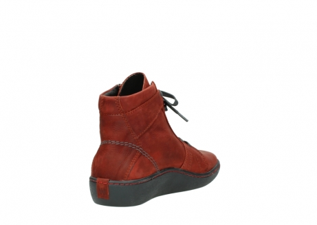 wolky lace up boots 08130 zeus 50540 winter red oiled leather_9