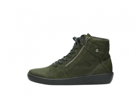 wolky lace up boots 08130 zeus 50730 forest green oiled leather_1