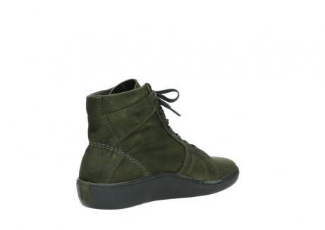 wolky lace up boots 08130 zeus 50730 forest green oiled leather_10