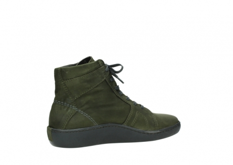 wolky lace up boots 08130 zeus 50730 forest green oiled leather_11