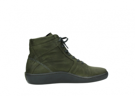 wolky lace up boots 08130 zeus 50730 forest green oiled leather_12
