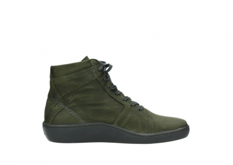 wolky lace up boots 08130 zeus 50730 forest green oiled leather_13